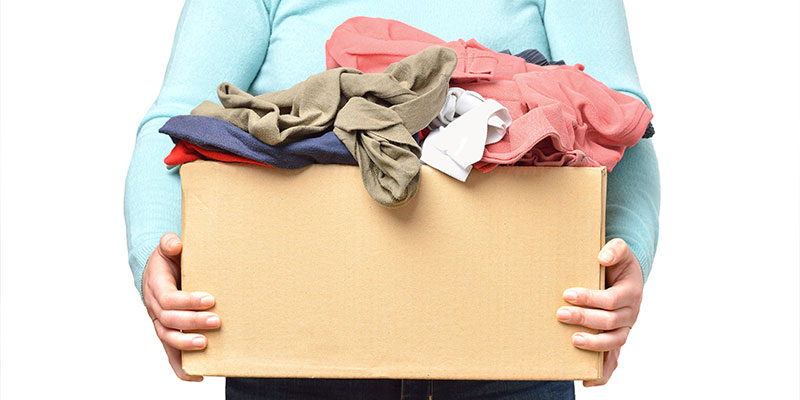 5 Top Ways To Get Rid Of Your Old Clothes